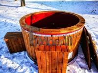 Jakuzzi extérieur bois avec chauffage électrique