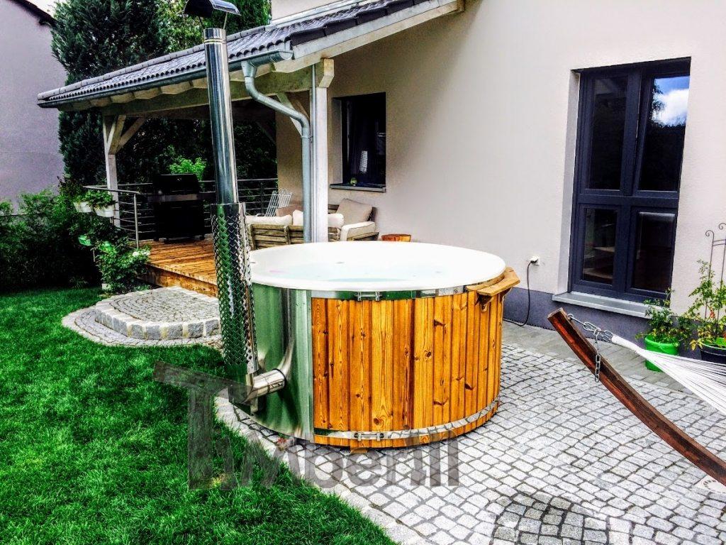 bain nordique en fibre de verre en Autriche