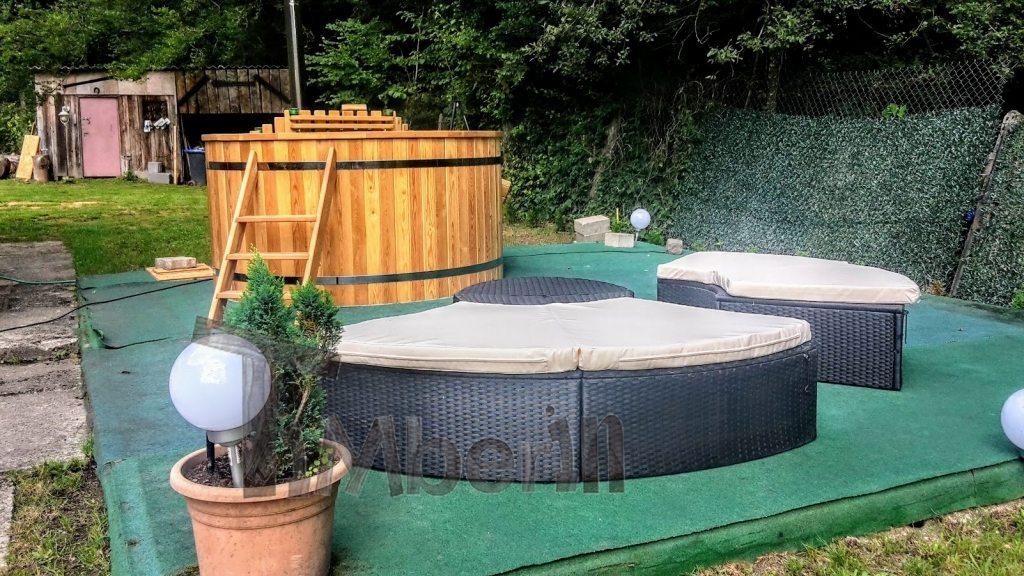 Projet de bain à remous France vue extérieure