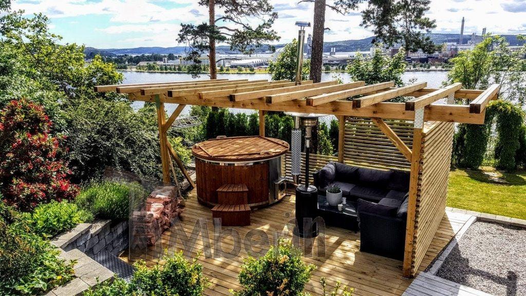 Projet de jacuzzi en Norvège