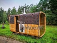 Sauna extérieur rectangulaire