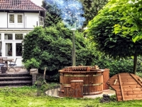 projets de jacuzzi extérieur en Allemande