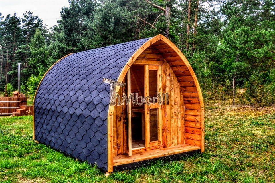 Cabane de jardin en bois pour 6 personnes