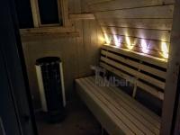 les bancs avec LED