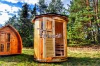 Sauna verticale