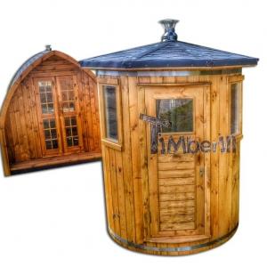 Sauna extérieur pour un espace de jardin limité